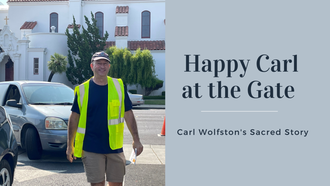 Happy Carl At The Gate