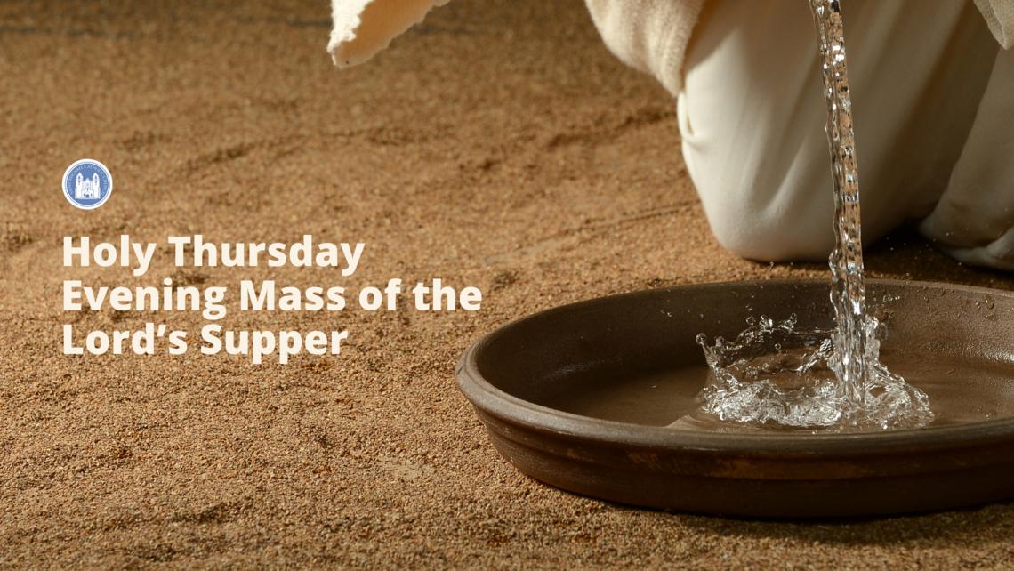 Holy Thursday Mass Banner