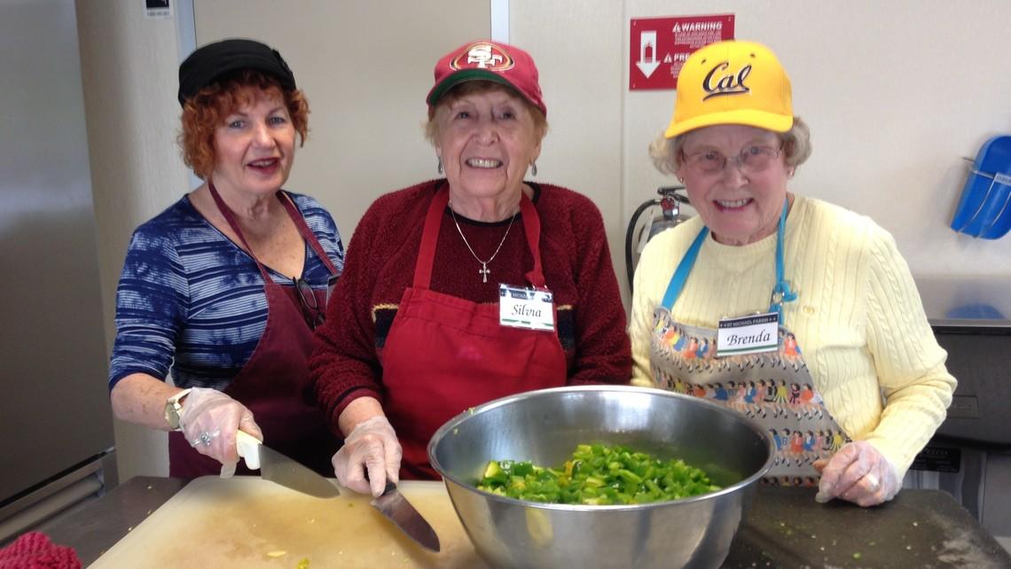 Open Heart Kitchen Volunteers
