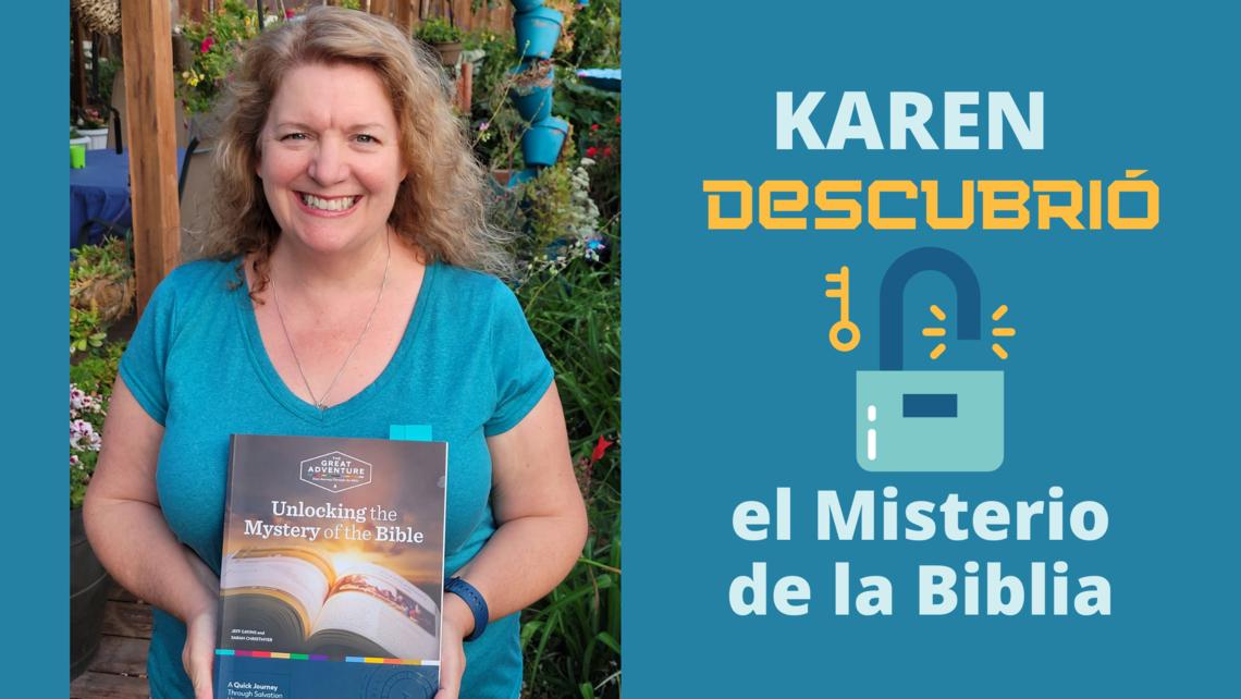 Karen Unlocked The Mystery Of The Bible   Blog Spanish