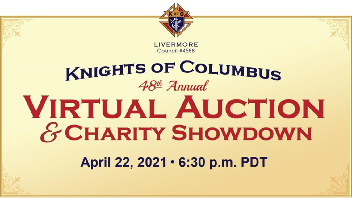 Kofc Virtual Auction Showdown