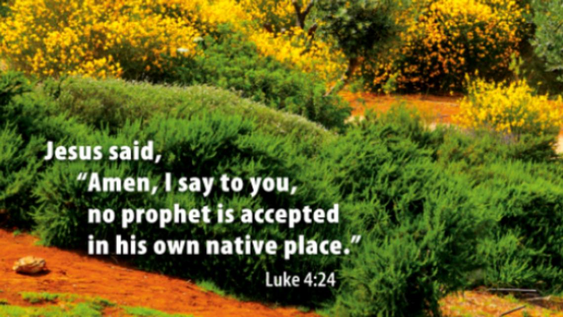 Luke 4 24