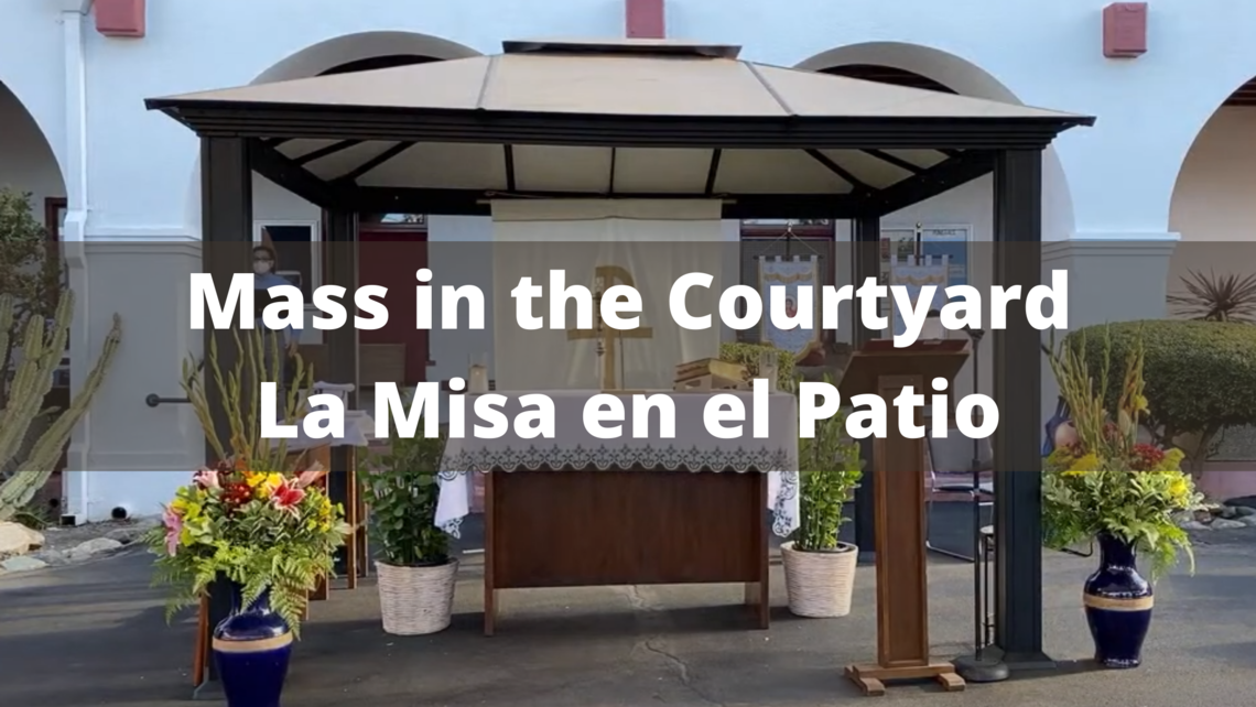 Mass In The Courtyard