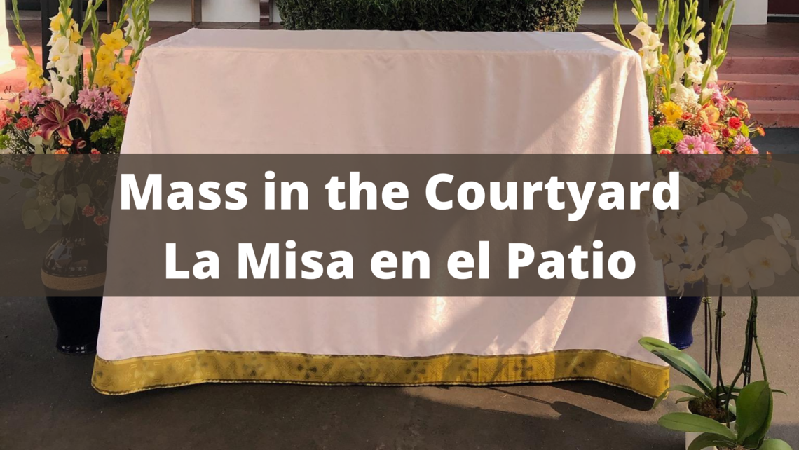 Mass In The Courtyard La Misa En El Patio