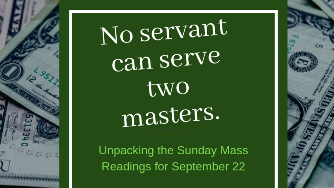 No Servant Can Serve Two Masters   Twiiter