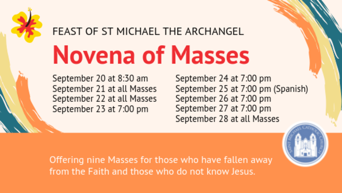 Novena Of Masses  Bulletin