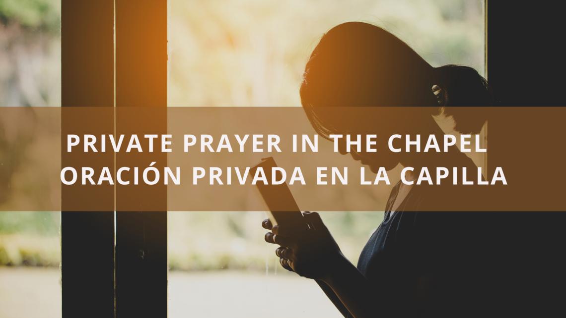 Private Prayer In The Chapel