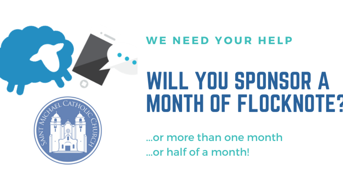 Sponsor A Month Of Flocknote