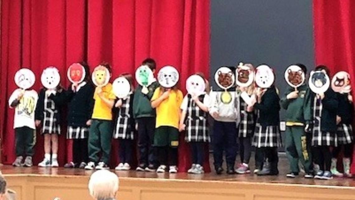 St Michaels Kindergarten Class 03 24 18
