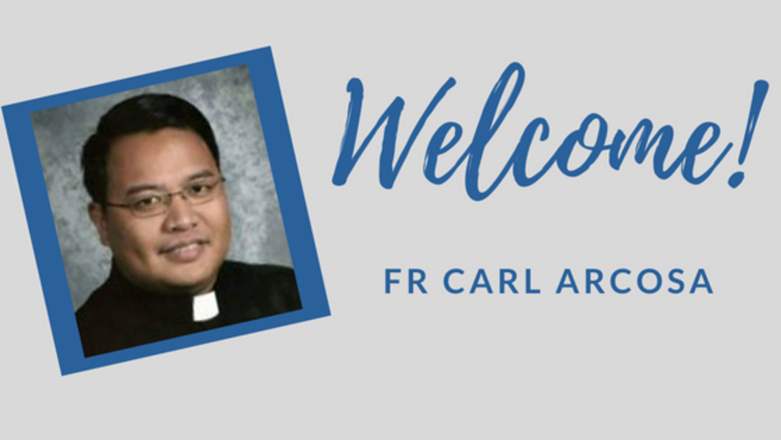 Welcome Fr Carl