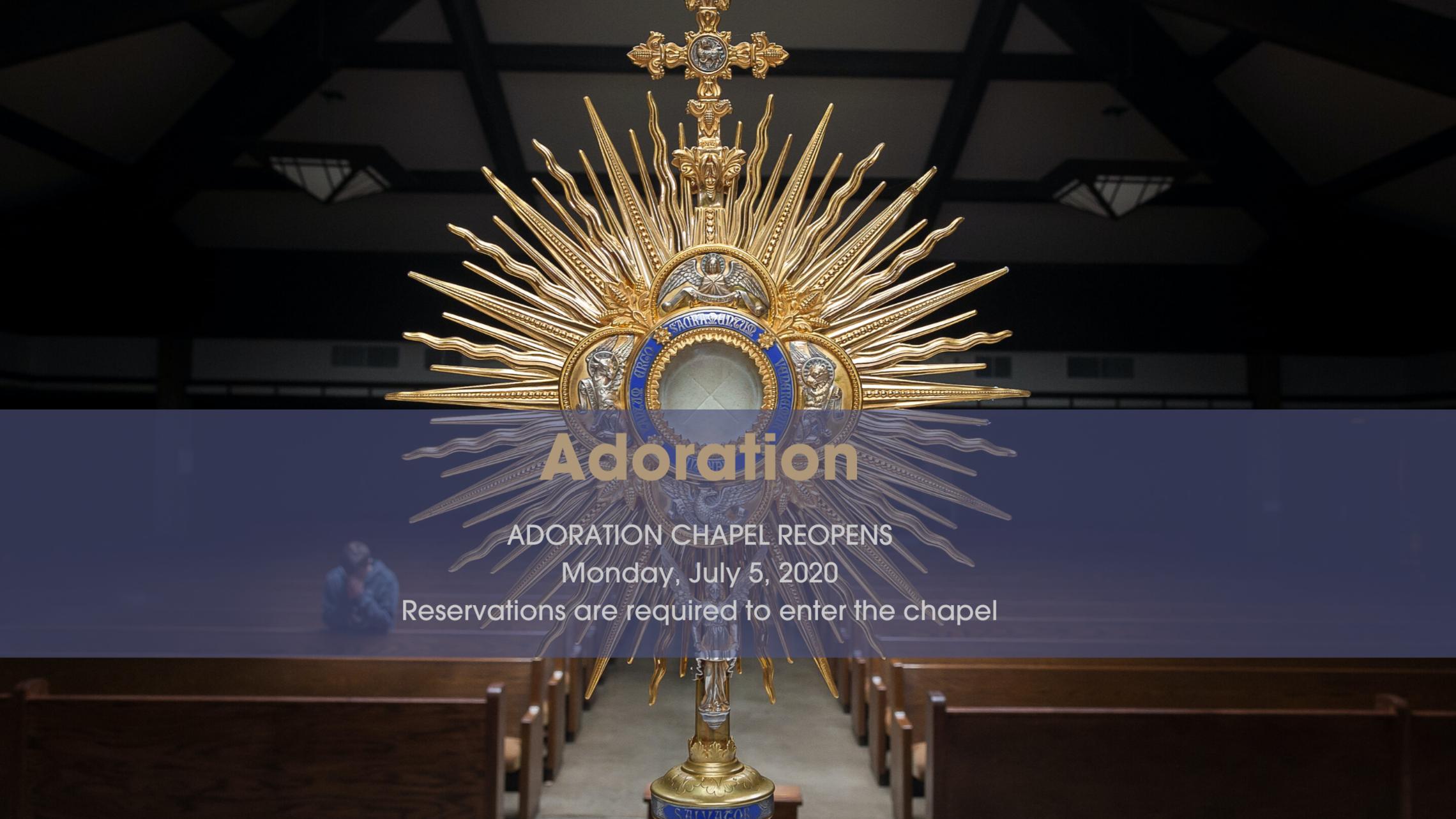 Adoration July 6 English