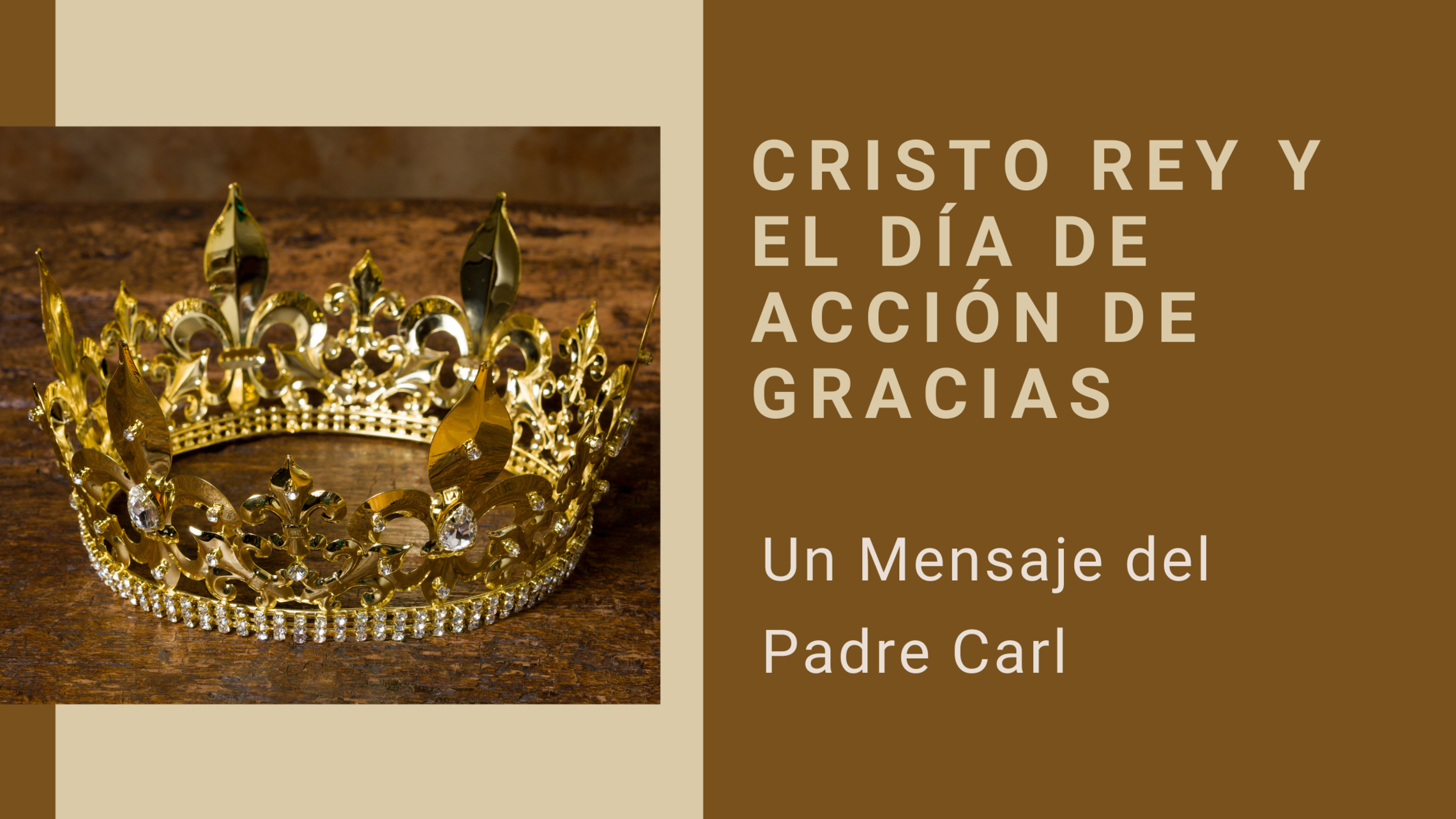 Christ The King And Thanksgiving Spanish