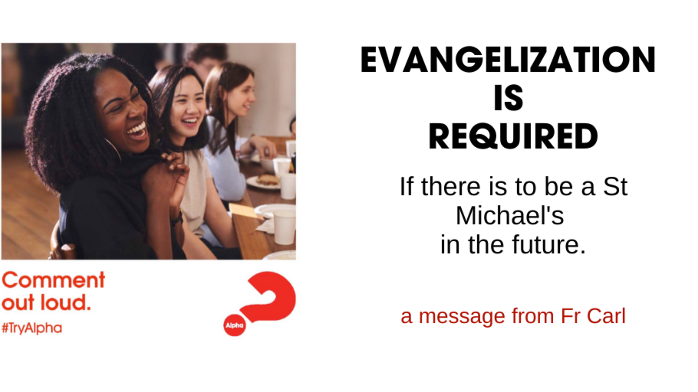Evangelization Is Required