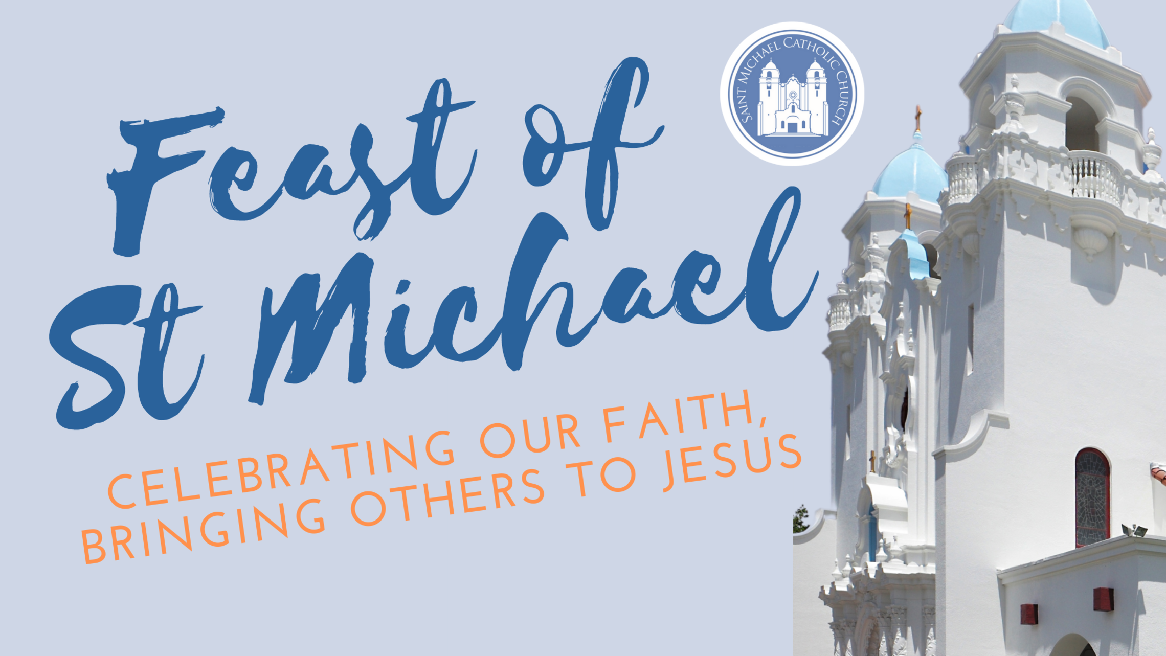 Feast Of St Michael Blog Banner