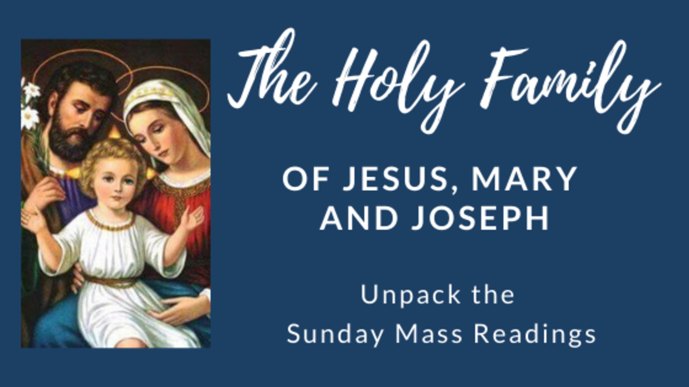 Holy Family   Blog