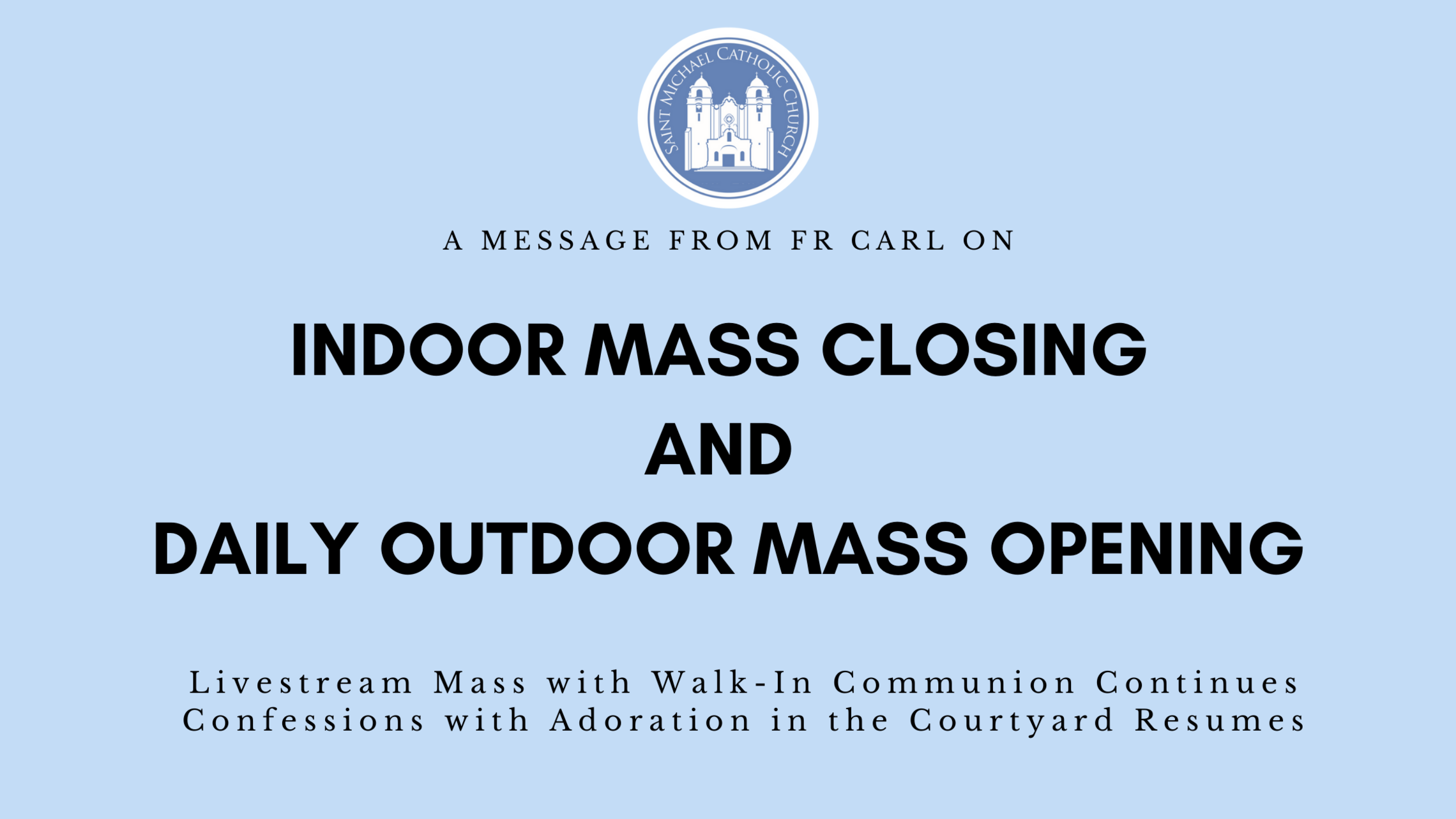Indoor Mass Closing And Daily Outdoor Mass Opening