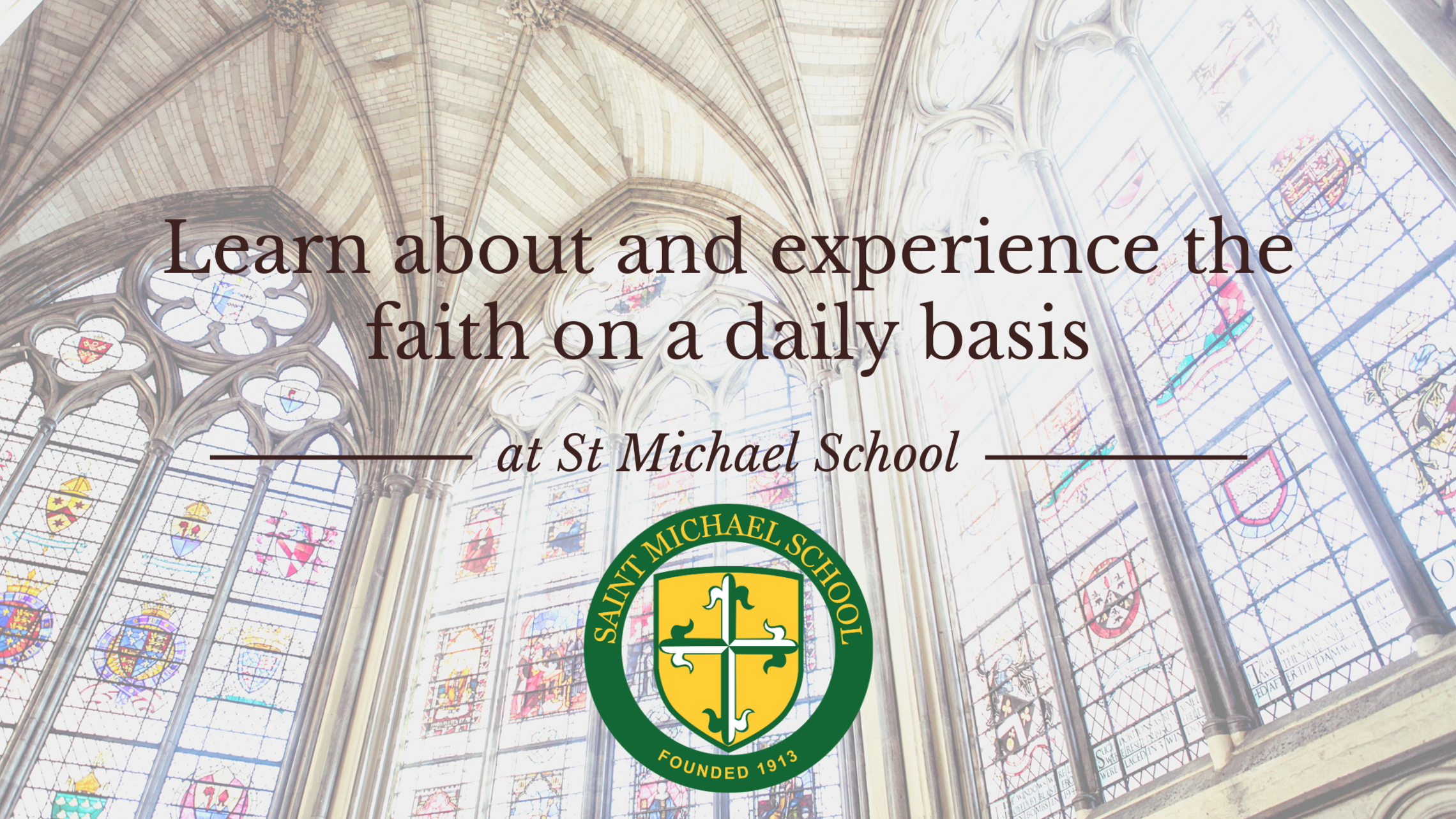 Learn About And Experience The Faith On A Daily Basis