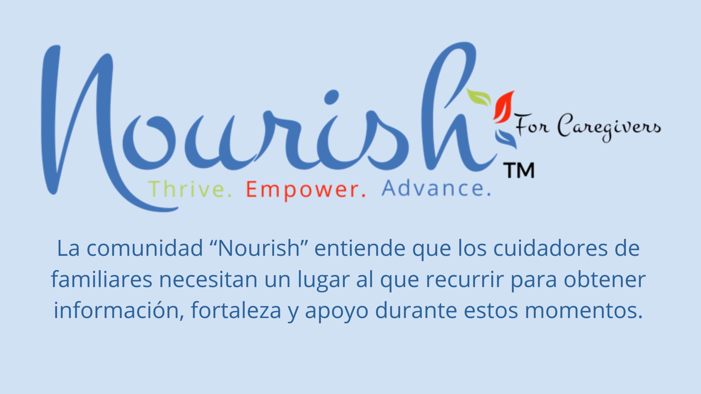Nourish Spanish
