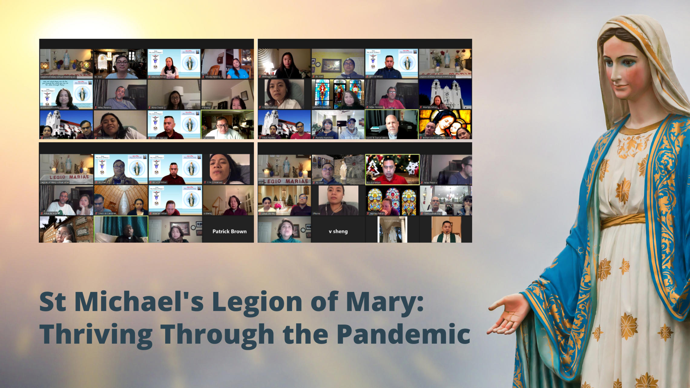 St Michaels Legion Of Mary Thriving Through The Pandemic
