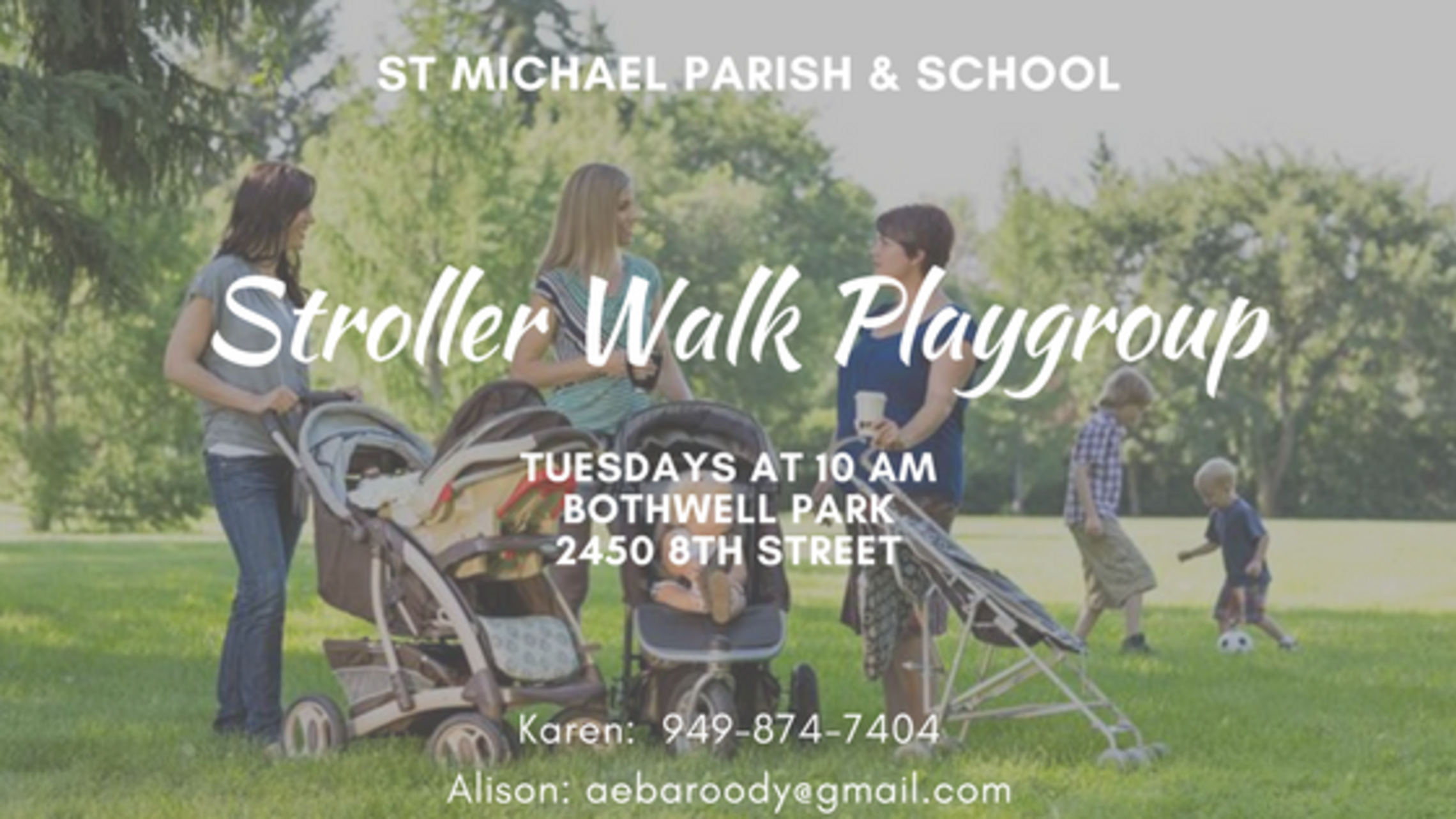 Stroller Walk Playgroup