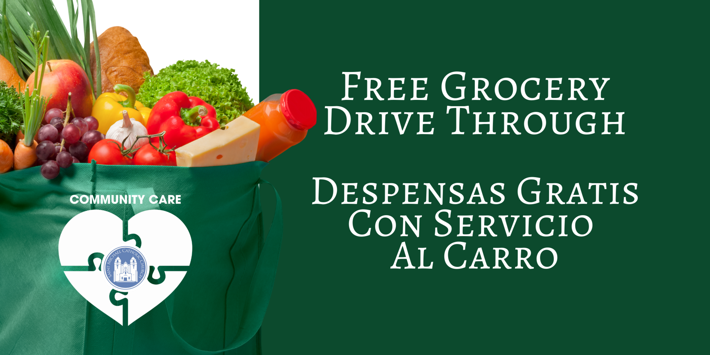 Free Grocery Drive Through   Web