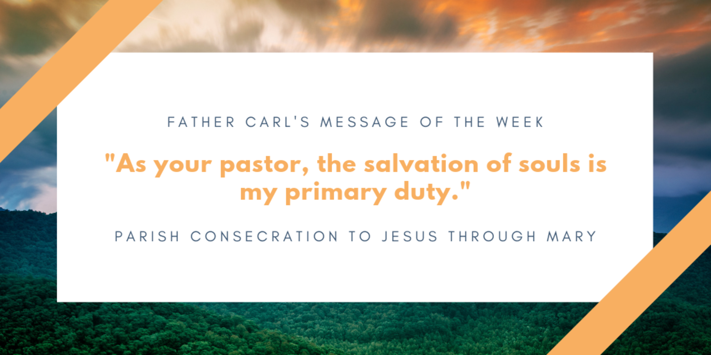 Parish Consecration Blog Banner