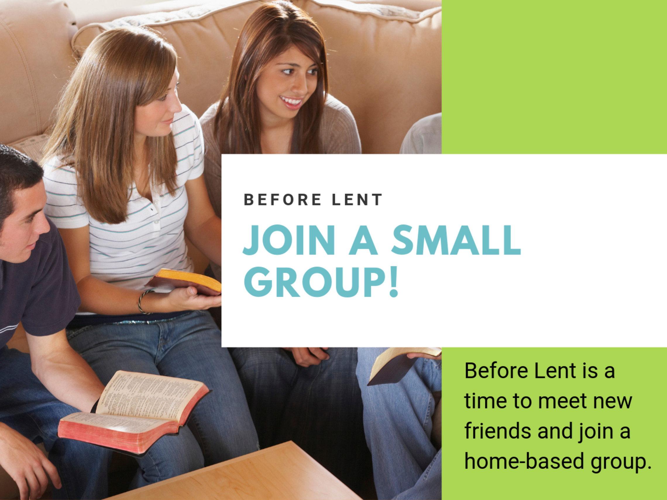 January Small Group Sign Up