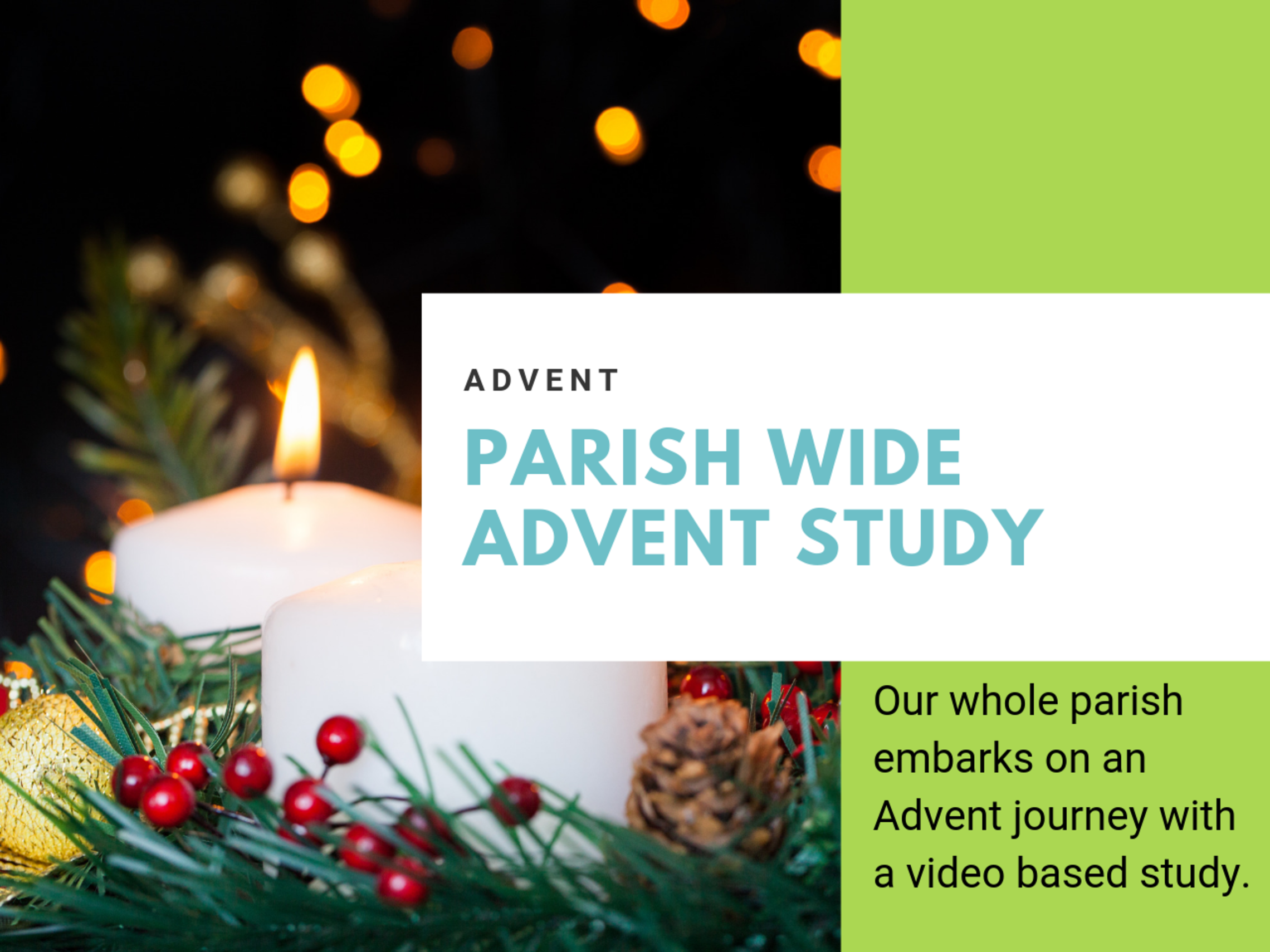 Parish Wide Advent Study