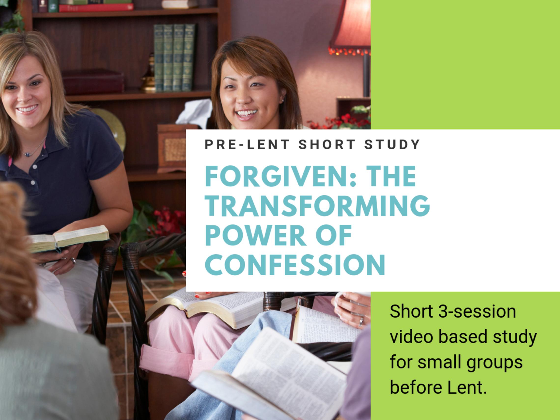 Pre Lent Forgiven