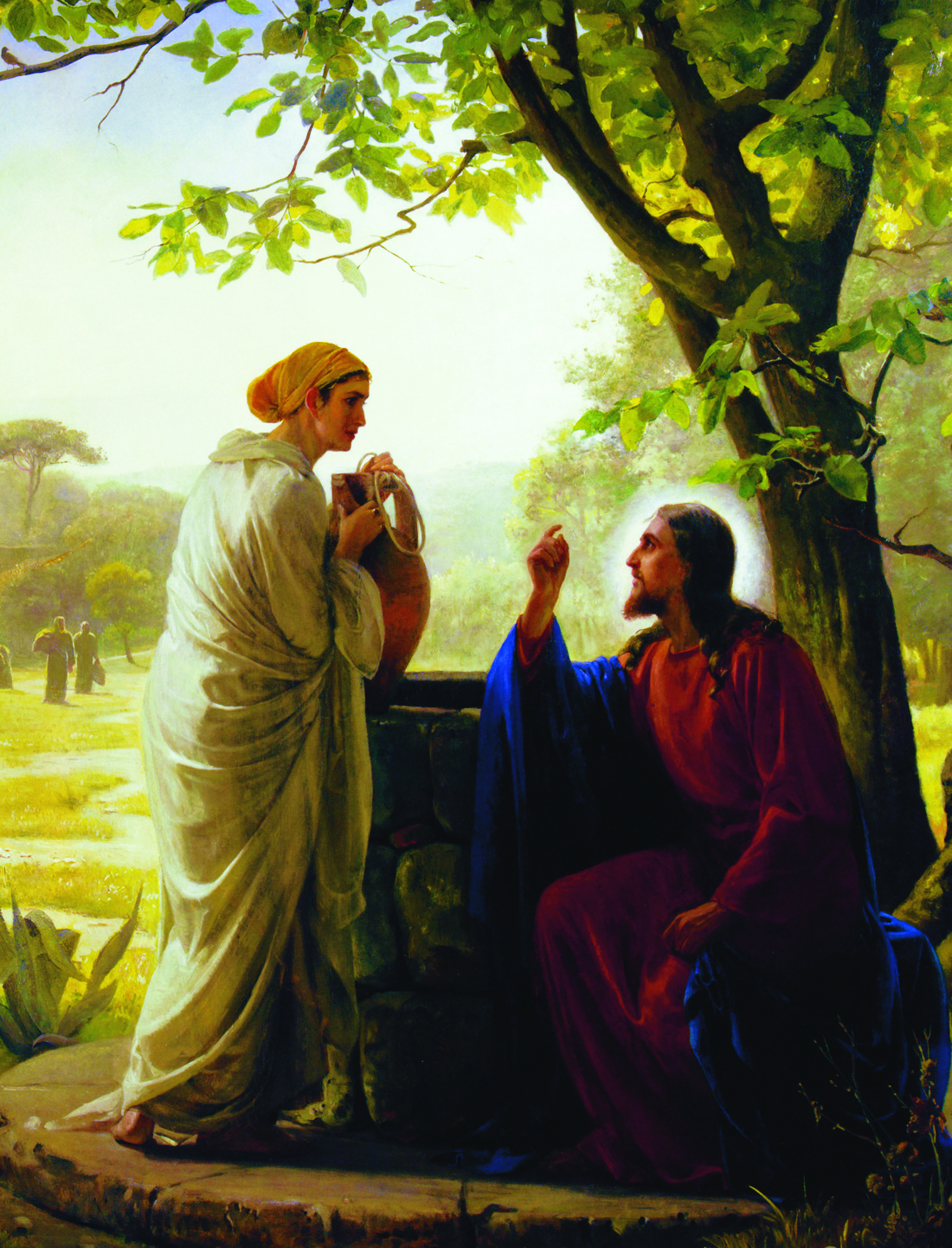 Jesus Woman At The Well